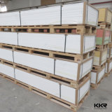 Vente en gros 12mm Pure White Solid Surface