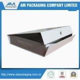 Boîte-cadeau de empaquetage de carton pliable avec le lustre de laminage de Matt UV