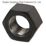 Porcas Hex chapeadas zinco do hexágono DIN934 do aço de carbono