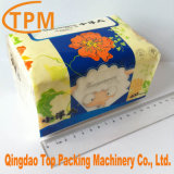 Macchina per l'imballaggio delle merci di carta a gettare automatica dei fazzoletti per il trucco