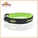 通気性の柔らかい飼い犬カラーまたは反射(KC0091)