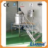El tanque de mezcla del acero inoxidable con el altos homogeneizador/mezclador/emulsor del esquileo