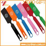 OEM Silicone/PVC van de manier de Markering van de Bagage voor de Markering van het Etiket
