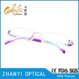 Ultimo disegno beta Eyewear di titanio per la donna (8322)