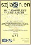 Macchina di plastica per le protezioni di plastica con ISO9001: 2008