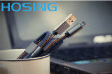 Fábrica OEM Jeans Braided USB Data Cable Design elegante
