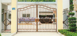 Deur Van uitstekende kwaliteit 19 van de Omheining van het Smeedijzer van de Veiligheid van Haohan Buiten Decoratieve