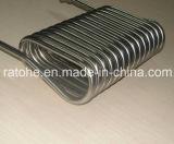Riscaldatore di bobina quadrato per il sistema di scambio termico