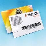 Kontaktlose NTAG216 RFID NFC Chipkarte mit Barcode