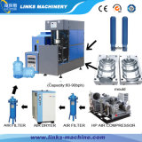 Máquina moldando do sopro do frasco do animal de estimação de 5 galões