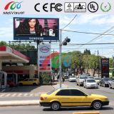 Muestra de la visualización de LED de la publicidad al aire libre de Waterpproof