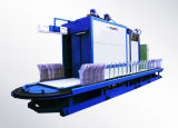 Il cotone colpisce con forza la macchina della regolazione di calore