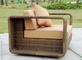 Sofa rond extérieur en osier de sofas de meubles/rotin d'hôtel extérieur de luxe de meubles (SC-B8916-B)