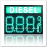 """газовая цена СИД 10 """" 8 '' 12 '' 20 '' чисел индикации газовой цены напольная 4 подписывает индикацию газовой цены СИД"""