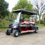 Cer-Bescheinigung passte 4 Seater elektrische das Golf-Karre für Golfplatz an