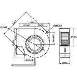 De KoelVentilator van de Ventilator van gelijkstroom voor het Kussen