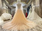 新しい到着2017の多色刷りのアラビア結婚のウェディングドレス