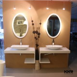 建築材料のプレハブの人工的な石造りのカウンタートップの浴室の虚栄心の上