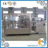 embotelladora plástica de agua de mineral de la máquina de rellenar del agua de botella 3-in-1
