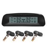 Индикация солнечнаяа энергия TPMS цифров LCD системы мониторинга давления покрышки автомобиля TPMS