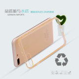 Caja del hielo TPU del capítulo del diamante para el iPhone 7 más