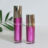 bouteille 15/50ml acrylique pourprée avec la pompe de lotion pour les produits de beauté (PPC-NEW-094)
