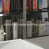 Meuble en acier inoxydable Accessoire de salle de bain Armoire miroir multi-usage (7015)