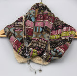 Красивейшие связанные шали женщин вспомогательного оборудования способа грелки шеи шерсти