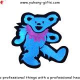 Значок формы медведя оптовой вышивки животный для одежд (YH-EB130)