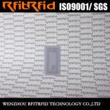 13.56MHz Tag descartável do tamanho pequeno RFID do ISO 15693 para bens