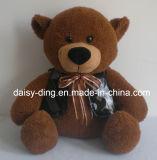 De Teddybeer van Stuffted met Rode T-shirt