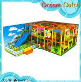 Máquina de juegos de interior del patio del patio suave aprobado de los cabritos del SGS