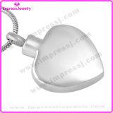 De herdenkings Halsband Opgepoetste Tegenhangers van het Hart van de Liefde