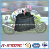 Tubo interno 2.75-17 de la goma butílica tres de la motocicleta china de la rueda