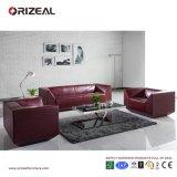 Sofà rosso della mobilia del salone di qualità di Orizeal impostato (OZ-OSF018)