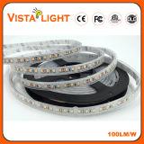 Tira de la luz de DC12V el 14.4W/M LED para las barras del café/de vino