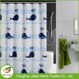 주문 방수 목욕탕 커튼 돌고래에 의하여 인쇄되는 샤워 커튼