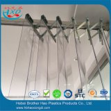アコーディオンの鋼鉄耐久財PVCストリップのカーテンアセンブリハンガーセット