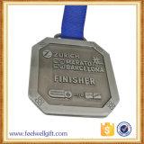 Medalha personalizada alta qualidade da estação de acabamento do metal do colhedor para o presente da lembrança