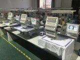 Solas máquinas controladas por ordenador principales del bordado de Holiauma/máquina de gran tamaño del bordado de la camiseta del casquillo plano