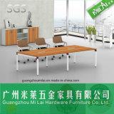 Mesa de reuniones recta de la conferencia de la oficina de los muebles del hardware del precio razonable
