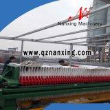 Prensa del filtro hydráulico del equipo del tratamiento de aguas residuales del cemento