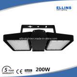 luz de inundación de 140lm/W Philips 100W LED para el campo de tenis