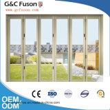 Porte en aluminium normale de pli de Bi de porte de pliage de l'Australie