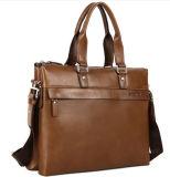 La bolsa de mensajero de lujo Moda Oficial cuero auténtico Maletín Hombres
