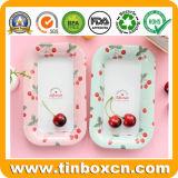 Plaques de plateaux de casse-croûte de dessert de bonbons à sucrerie de fruit de bidon en métal