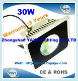 Yaye 18 gute Flut-Lichter der Preis-Qualitäts-10With20With30With40With50W der Leistungs-LED mit Garantie 2/3/5 Jahre