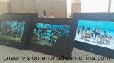 """Negro 7 """" LCD que hace publicidad del marco de la foto de Digitaces del jugador"""