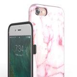 Rosafarbenes Marmorargument für iPhone7
