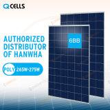 Centrale elettrica del comitato solare di PV delle cellule di Q/modulo/prodotto 270W 280W